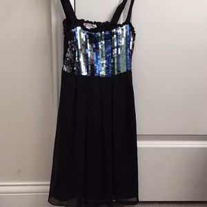 Sally Miller Couture Girls Sequined Dress Sz: S